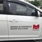 Self-Driving Car Spotted at MaGIC Campus in Cyberjaya