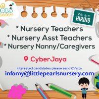 Nursery Teacher - Cyberjaya